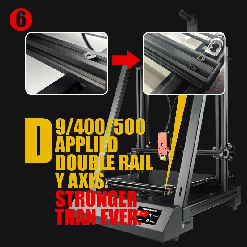 HTB1wf0KavjsK1Rjy1Xaq6zispXao - New Wanhao FDM Desktop 3D Printer Machine Duplicator 9 D9/300 MK2 With Auto Leveling Big Print size 300*300*400mm Free Shipping