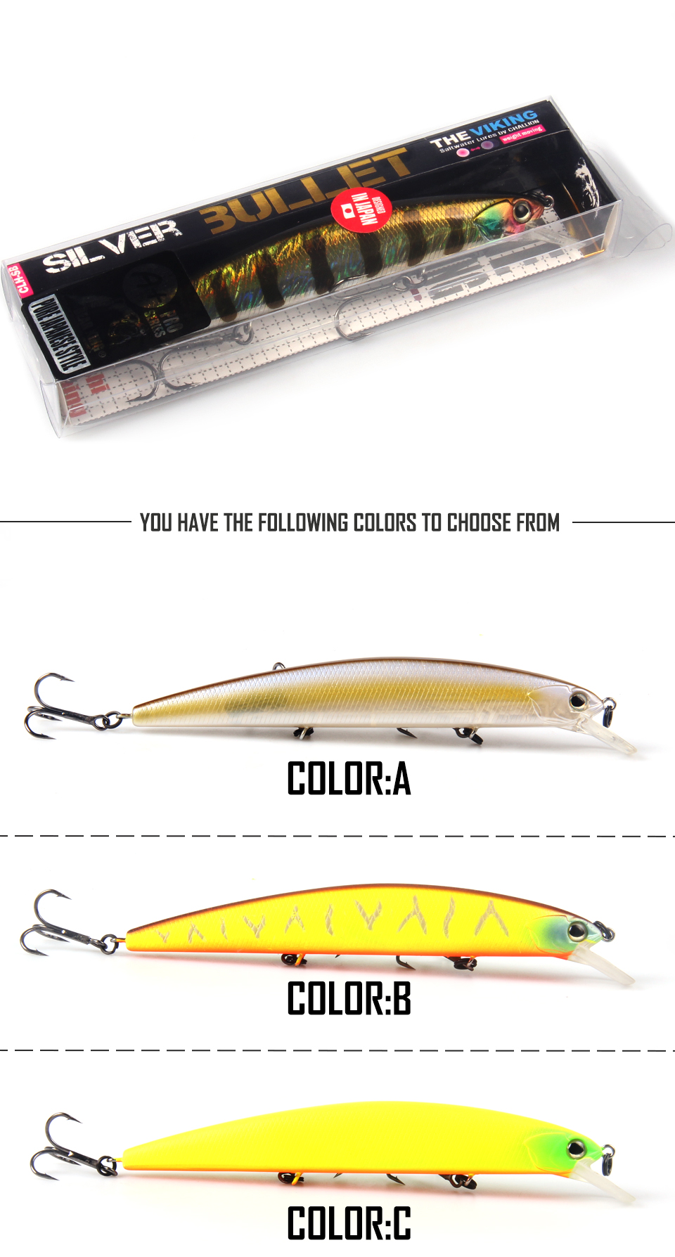 BEARKING for artificial Fishing lures minnow quality wobblers baits 13cm 21g suspending hot model crankbaits popper