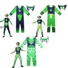 Disfraz de criatura salvaje de Kratts para niños, disfraz de Halloween, disfraces de cosplay