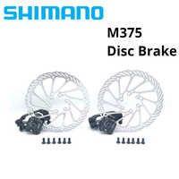 Shimano BR-M375 Mechanical Disc Brake Calipers for Acera Alivio Deore with  Resin Pads M375