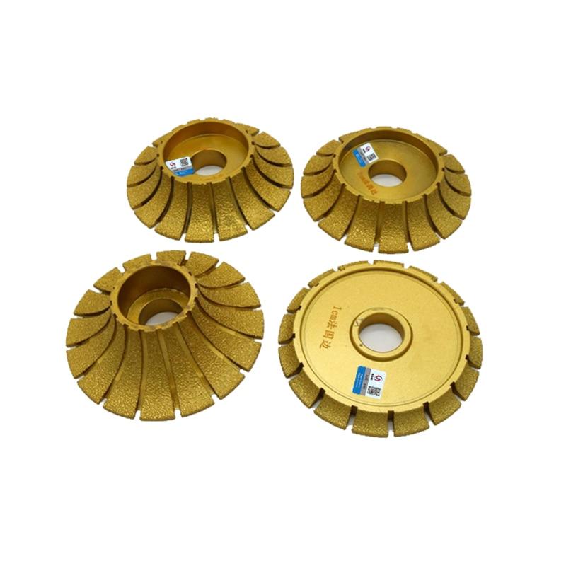 RIJILEI 140mm * 30mm Pájení Diamantové profilovací kotouče pro - Elektrické nářadí - Fotografie 5