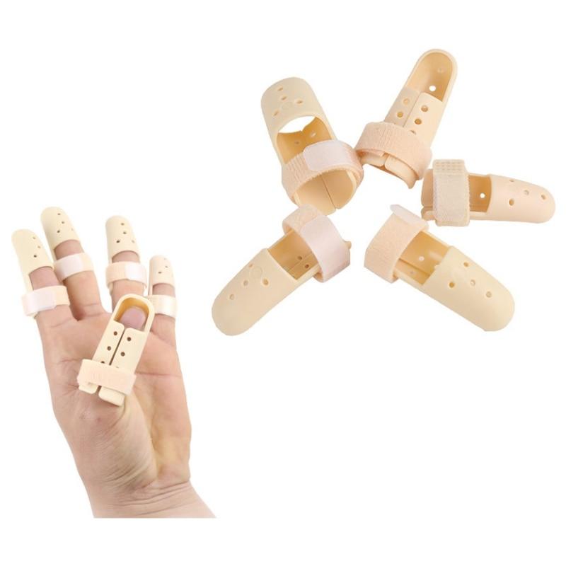 Fitness Finger Fracture Brace Non-slip Finger Splints Adjustable Finger Protector Splint Orthopedic Fractures Fixator 1pc