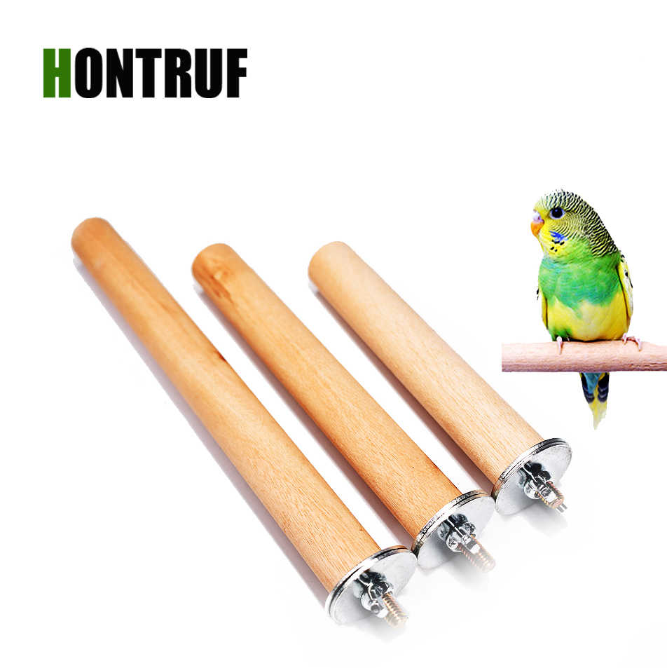 Wood Grinding Claw Stick Parrot Stand Rod Birdcage Supplies Parrot Molar Bar Bird Nest Scrub Station Bar Bird Toy