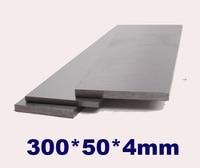 High speed Steel HSS plate sheet 300x50x4mm High strength Steel Plate good hardness 60 HRC
