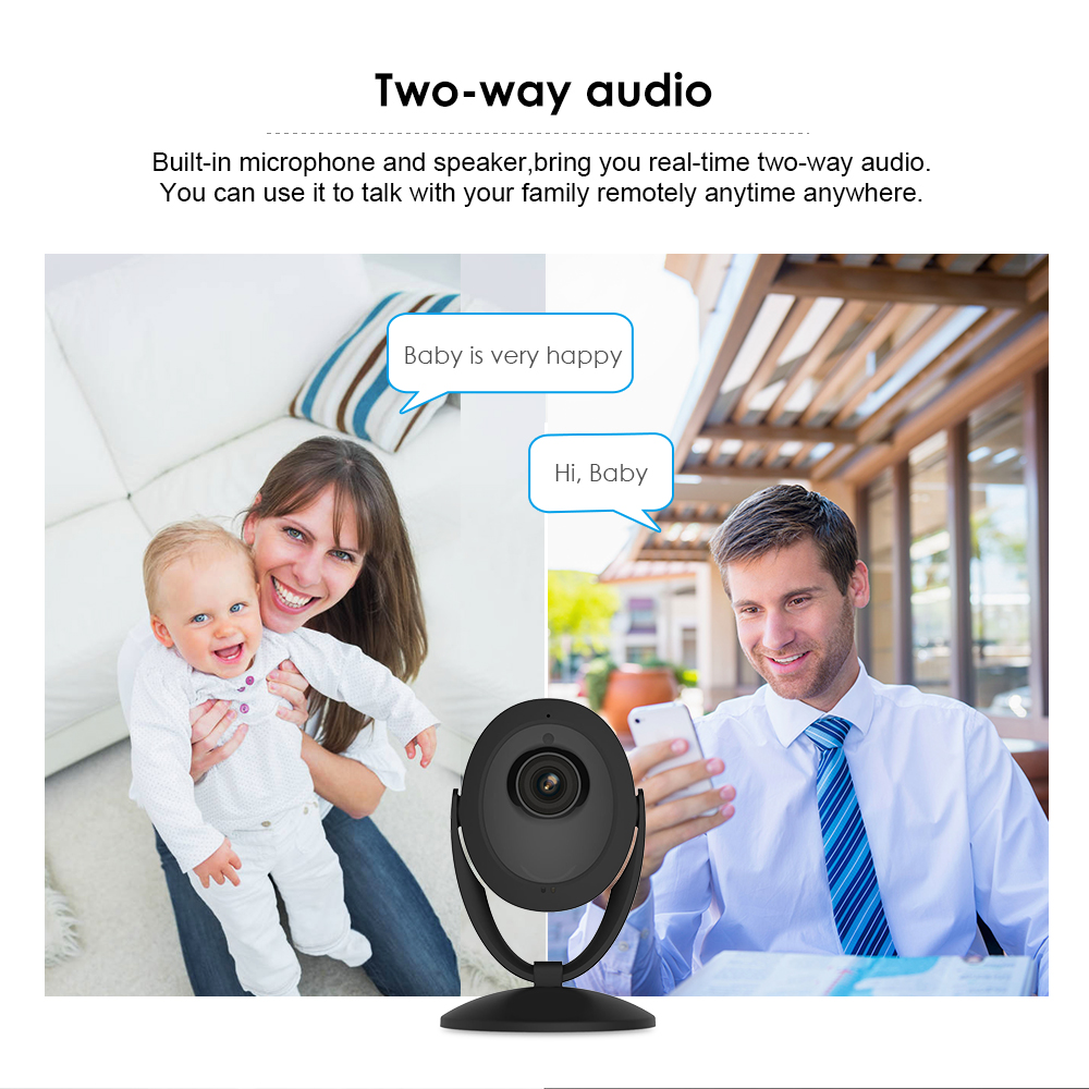 Acesee Wifi IP Camera 1080P Smart Home Security Camera System Wireless Indoor Camera Night Vision Baby Monitor IPcam Mini Camara