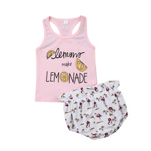2Pcs Infant Newborn Baby Girl Letter Vest Sleeveless Tops Flamingo Shorts Outfit Sunsuit Clothes Set 2019 baby child girls kids clothing bow knot flower sleeveless vest t shirt tops ves shorts pants outfit girl clothes set 2pcs infant page 4 page 5