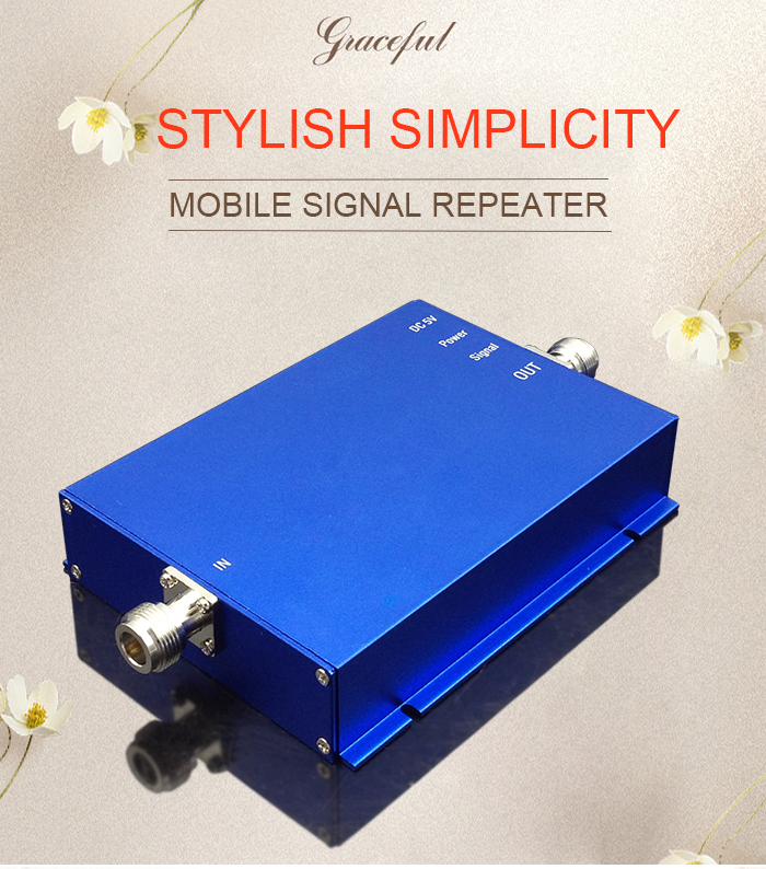 1900MHz 2G 3G Cellular Signal Booster Signal For Mobile Cellphone Band2 Internet 65dB Communication Network Signal Amplifier -