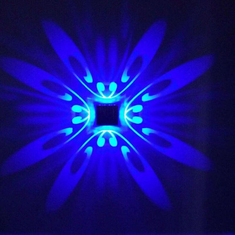 110 V 220 V 240 V moderno de pared LED lámpara dormitorio lámpara de pasillo TV telón decoración cuadrado de aluminio luces de pared