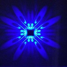 110V 220V 240V Modern LED wall lamp bedroom bedside lamp corridor aisle TV backdrop decoration Square Aluminum Wall lights