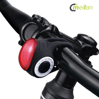 Wireless Control Bike Light Bell Anti theft Alarm USB Rechargeable Bicycle Light Rear Tail Lamp COB Cycling Light For Bicycle