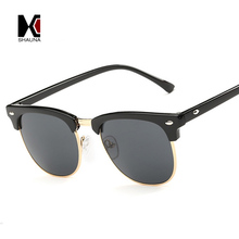 2015 Fashion Glasses 3016 Coating Sunglass Clubmaster RB Sunglasses Women Cat Frame Vintage Retro Eye gafas oculos de sol