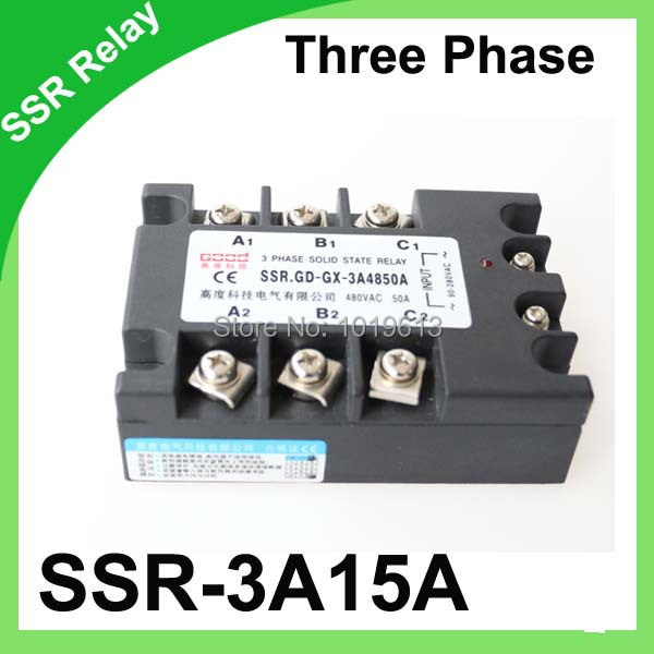 original 3 phase ac solid state relay ssr 15a,80 250vac normallyoriginal 3 phase ac solid state relay ssr 15a,80 250vac normally open electronic