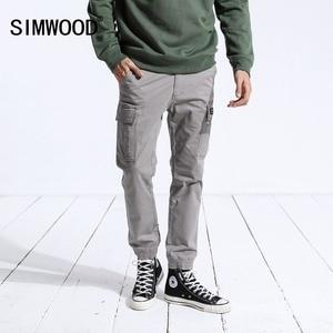 Image 2 - Simwood Nieuwe 2020 Lente Broek Mannen Mode Slanke Enkellange Joggers Broek Mannelijke Merk Casual Broek Gratis Verzending 180488