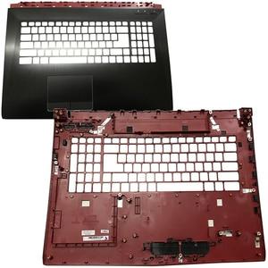 Gzeele novo para msi ge72 2qd apache pro MS-1792 MS-1791 superior caso palmrest capa 307791c411y31 E2P-7910412-Y31 bezel teclado
