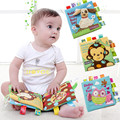 JJOVCE Newborn High Quality Colorful Patterns Baby Cloth Book Educational Baby Toy  Developmental Boy Girl Toys Intelligence