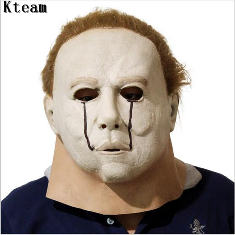 top grade latex halloween horror face mask rob zombies halloween party cosplay mask michael myers adult - Rob Zombie Halloween Mask For Sale