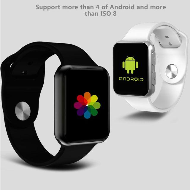 7ac53272076 I69 Saúde Pressão Arterial Inteligente Bluetooth veja com Heart Rate Relógio  de Pulso Para iphone 5