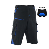 Cycling Shorts Men Downhill MTB Shorts Road Mountain Bike Shorts Outdoor Sports Cycle Short With Gel Underwear