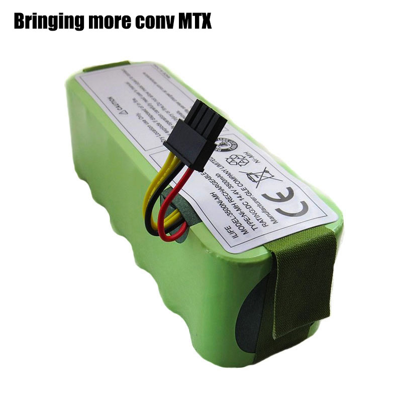 Battery for Kitfort KT504 Haier T322 T321 T320 Panda X500 X580 X600 Ecovacs Mirror CR120 Dibea Robotic Vacuum Cleaner 3500mAh(China)