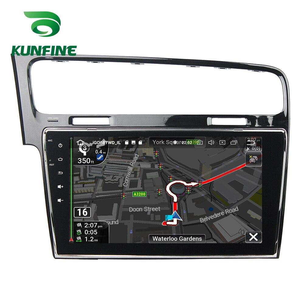 Octa Core 4 GB RAM Android 8.0 voiture DVD GPS Navigation lecteur multimédia voiture stéréo sans défaut pour VW Golf 7 2013-15 Radio Headunit - 6