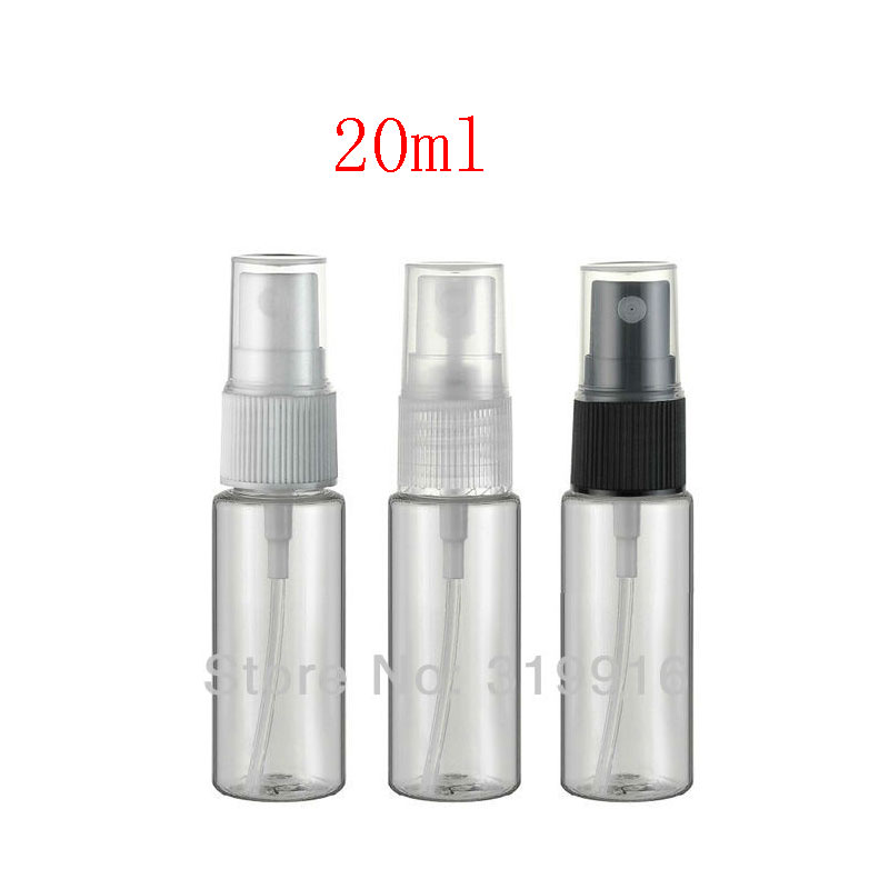 <font><b>20ml</b></font> X 100pc Transparent <font><b>Spray</b></font> PET <font><b>Bottle</b></font> 20cc Small Travel Perfume Container With Mist Sprayer Pump , Hotel <font><b>Spray</b></font> <font><b>Bottles</b></font> image