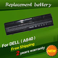 JIGU Laptop Battery For Dell Vostro 1014 1015 1088 A840 A860 Inspiron 1410 F286H F287F F287H G066H G069H PP37L PP38L