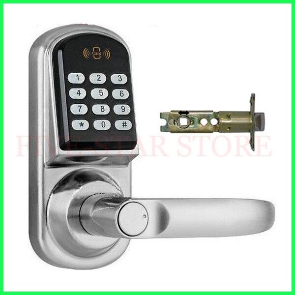 digital office door handle locks. Digital Office Door Handle Locks. Hot M1 Smart Card Password Lock  Electric For Locks