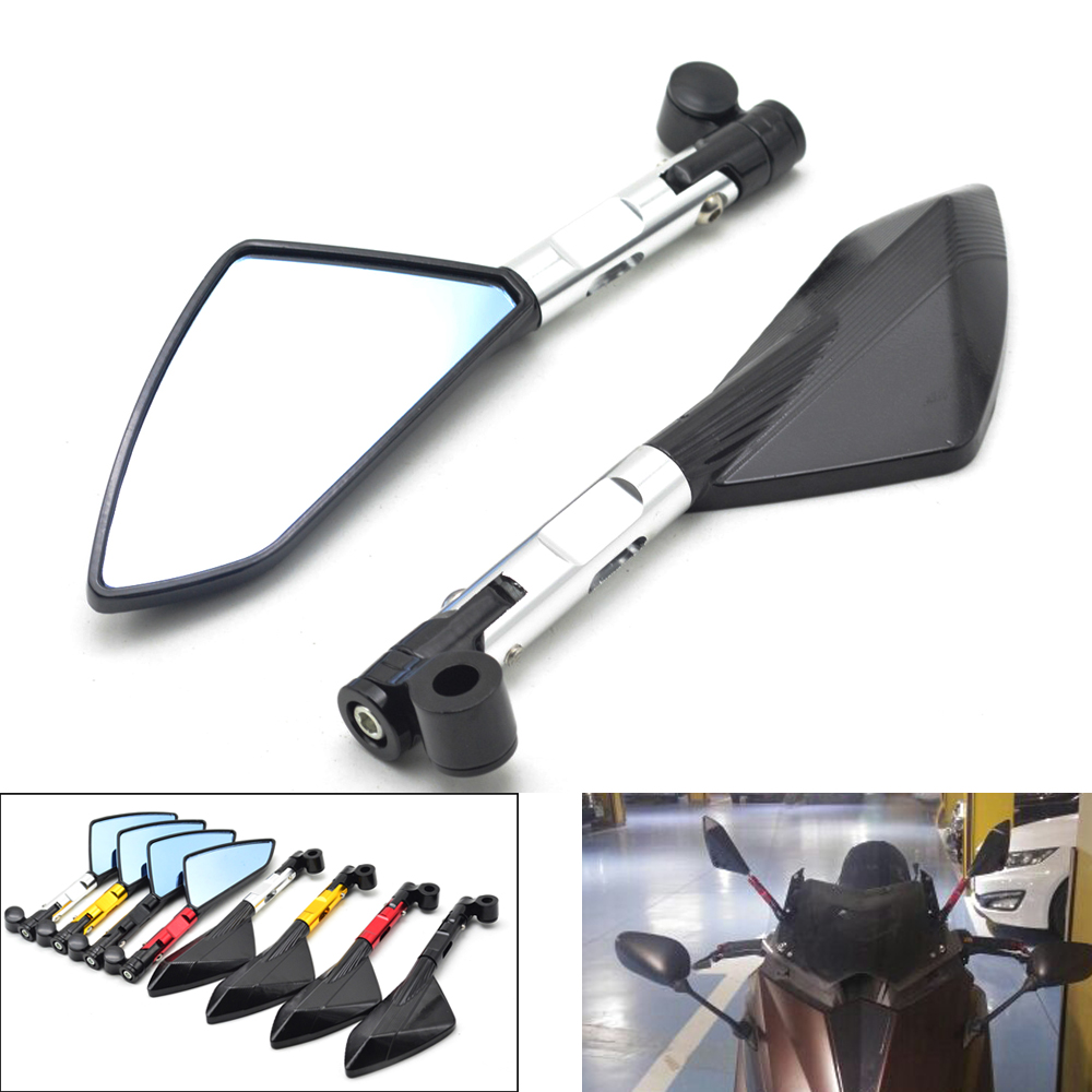 Universal Motorcycle Mirror Scooter Rearview Mirrors Moto Side Mirror For Yamaha T MAX TMAX 530 500