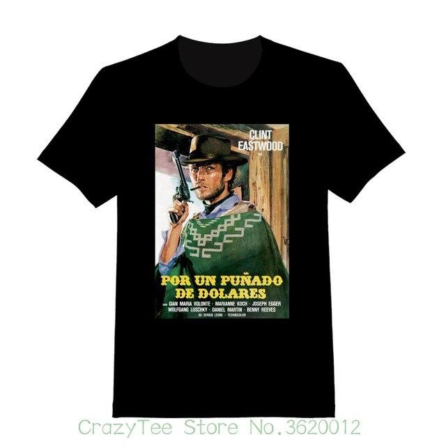 fffe5f6235 Women's Tee A Fistful Of Dollars #2 - Custom Spaghetti Western T-shirt (  155 ) Printed Funny T-shirt Hip Hop Cotton