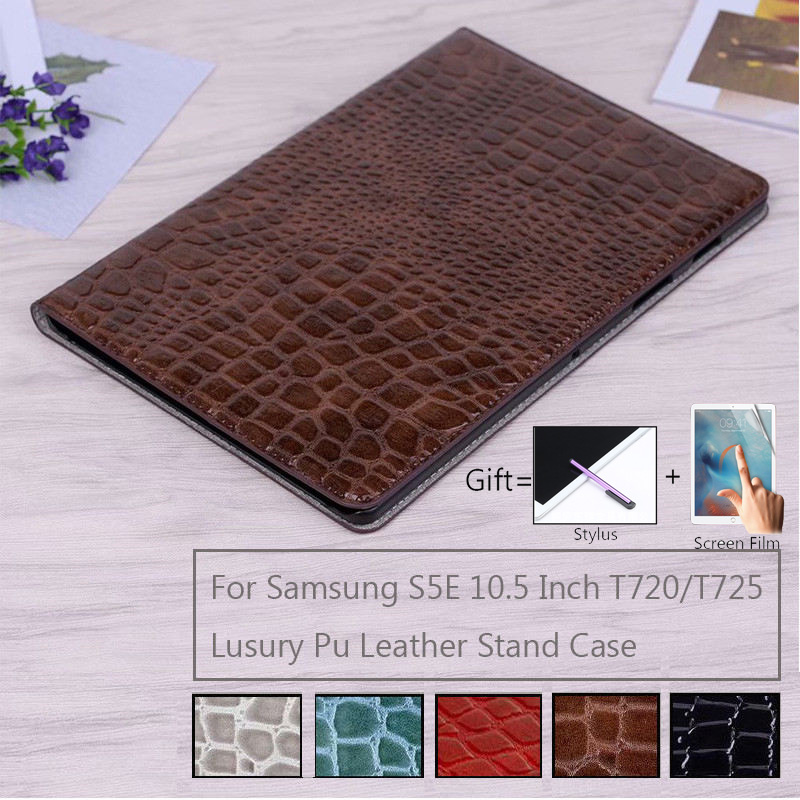 For Samsung Galaxy Tab S5E 10.5 inch 2019 <font><b>T720</b></font> T725 <font><b>Case</b></font> Luxury PU Leather Cover Stand Smart <font><b>case</b></font> for Samsung Tab S5E 10.5 <font><b>Case</b></font> image