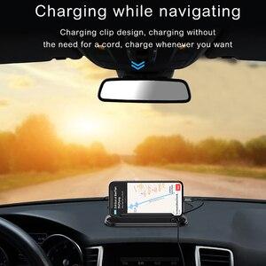 Image 3 - Baseus carta di imballaggio per auto temporanea per luce notturna per auto numero di telefono targa di notifica organizzatore di cavi supporto per telefono cellulare