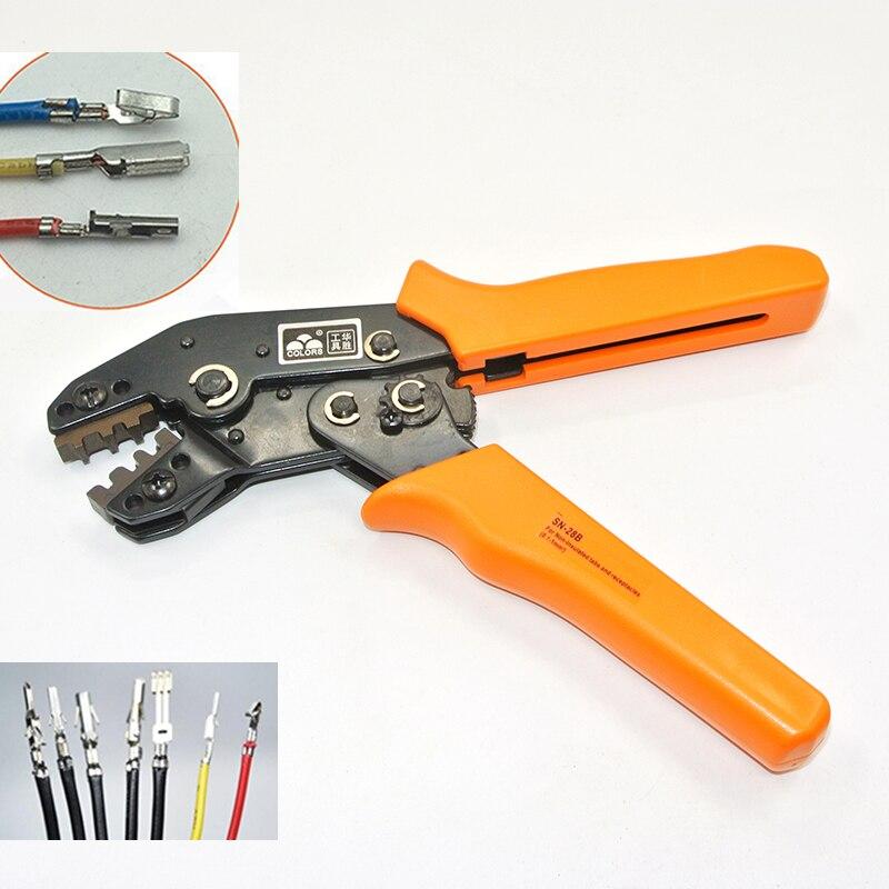 Crimpen Werkzeug Crimpen Zangen Für Dupont Xh2.54 Kf2510 Sm 2,54mm 3,96mm Stecker Terminals Awg28-22 Handwerkzeuge Werkzeuge