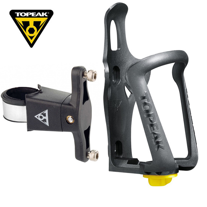 TOPEAK Engineering Plastic Bicycle Bottle Holder TMD05B/TMD05W+Cage Mount TCM01 Water Bottle Holder Bracket Rack Cage Adapter topeak dualside cage ex plastic base plastic cage black w gray white green mount holder bracket ф ль