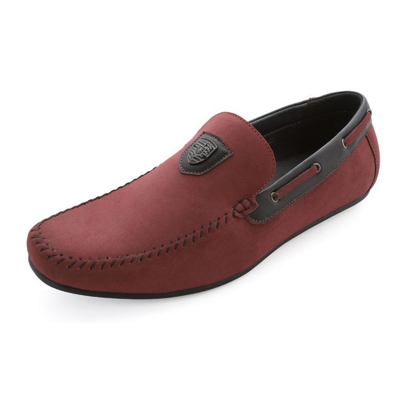 Italy Handmade Moccasin loafer Men  shoes  Leather Flats  Men's Summer Brand Shoes