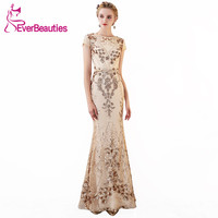 Mermaid Evening Dress Long 2018 Elegant Evening Gowns Long Prom Party Dresses Robe De Soiree