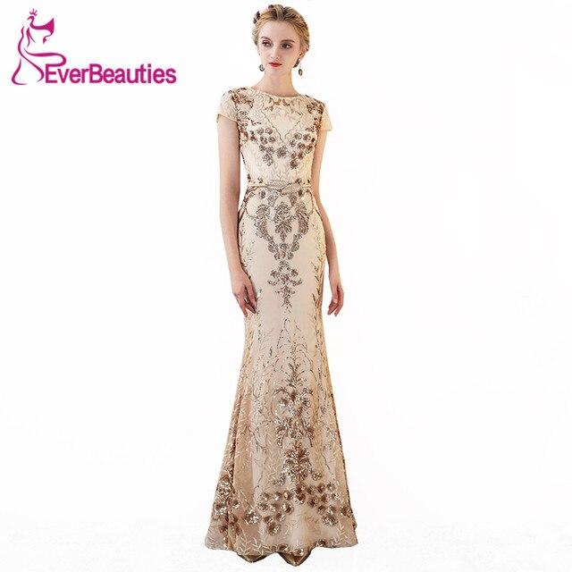 dd49c567af Syrenka suknia wieczorowa długa 2019 eleganckie suknie wieczorowe długie  Prom Party suknie Robe De Soiree