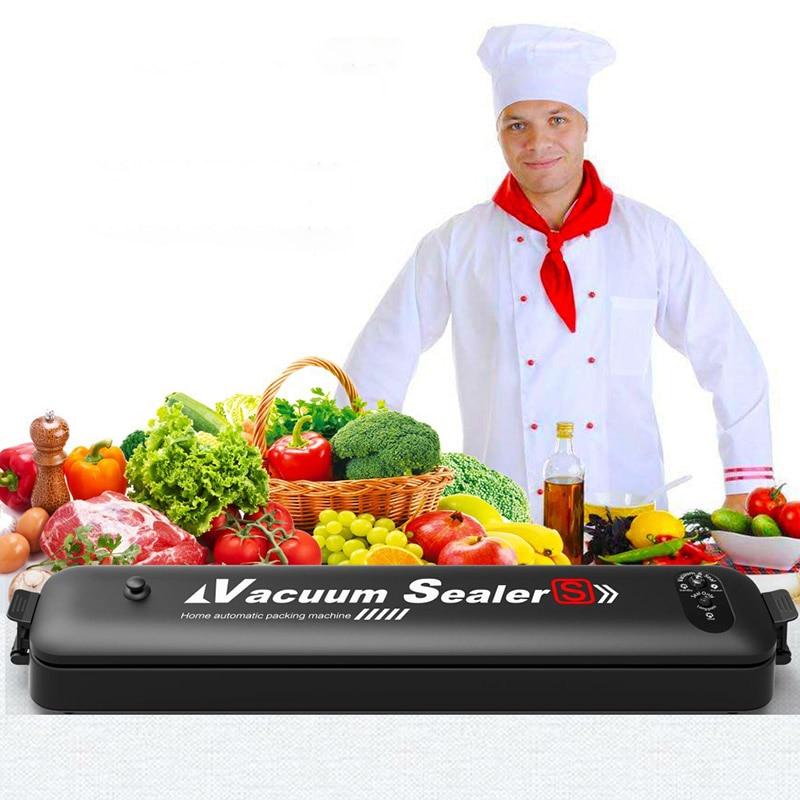 Machine automatique de cachetage de vide de nourriture Machine d'emballage sous vide Machine de conservation de cuisine avec 15 pièces de cachetage