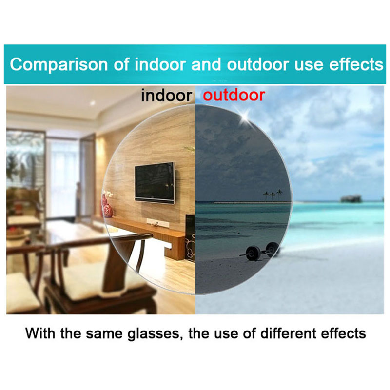 New Fashion Bifocal Intelligent Photochromic Reading Glasses magnifier Women Men Double Beam Semirim Presbyopia Spectacles D5 in Women 39 s Reading Glasses from Apparel Accessories