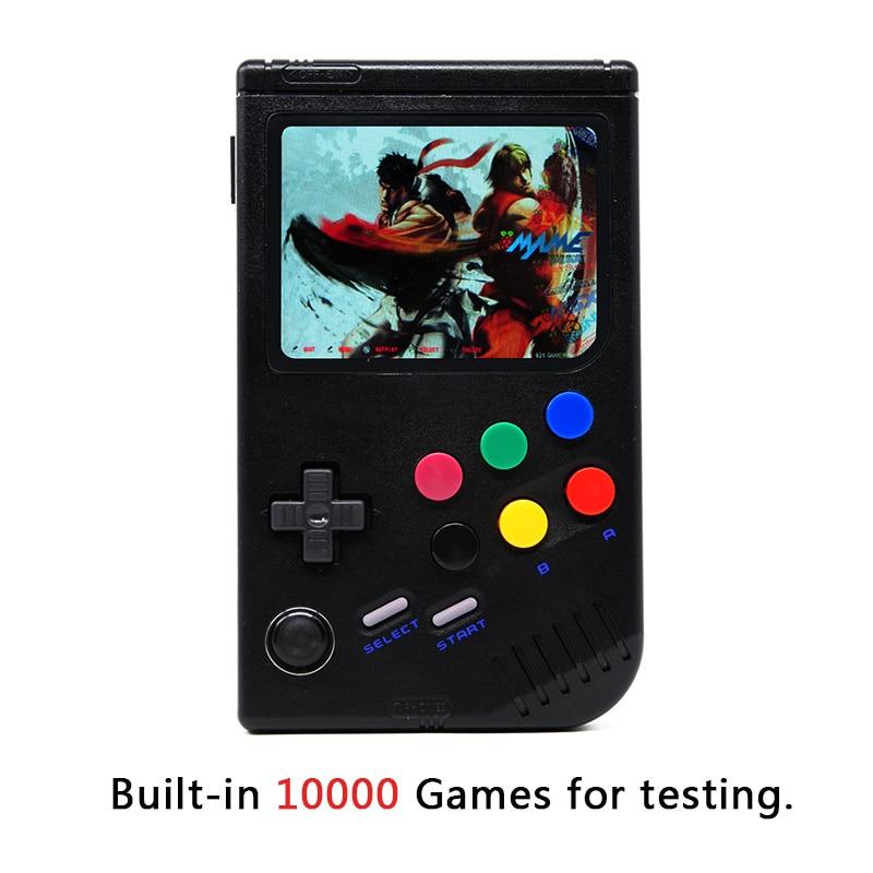 Nouveau 3.5 Pouces IPS Écran De Poche Game Player Intégré Dans 10000 Jeux Classiques Framboise Pi 3 Modèle B/B + émulateur Rétro Jeu Console