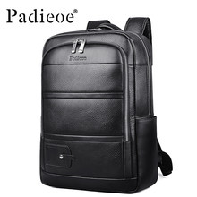 1f3131276332 Luxury Genuine Leather Travel Backpack High Quality Durable Laptop Bag  Mochila Masculina Large Capacity Male Daypack Backpack