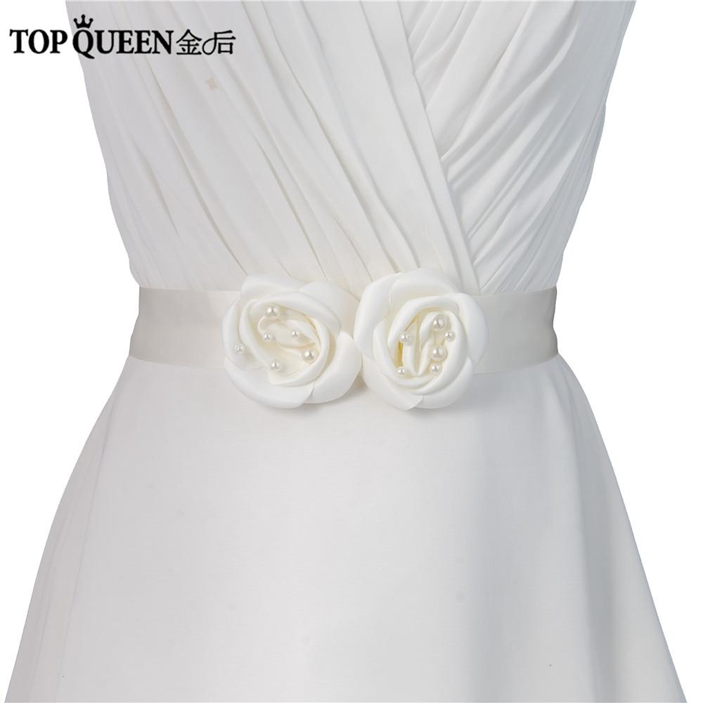 Beautiful Flowers For Weddings: TOPQUEEN S287 Beautiful Flowers Wedding Belts Wedding