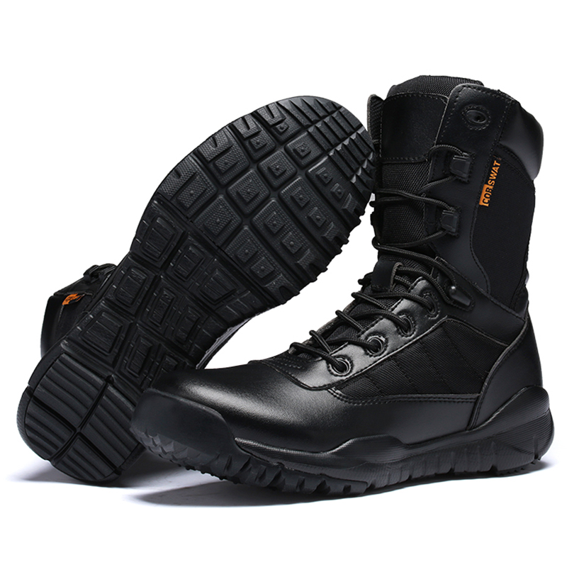 Man Boots with PU Leather Mens Motorcycle Riding Hunting Casual Walking Shoes Military Boots High Quality Tactical Martin BootsMan Boots with PU Leather Mens Motorcycle Riding Hunting Casual Walking Shoes Military Boots High Quality Tactical Martin Boots