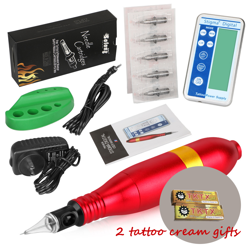 New Tattoo Kits Pro Microblading Permanent Makeup Pigment Ink Kit/Set Eyebrow Tattoo Needle Pen Tattoo Tool Permanent EyelinerNew Tattoo Kits Pro Microblading Permanent Makeup Pigment Ink Kit/Set Eyebrow Tattoo Needle Pen Tattoo Tool Permanent Eyeliner