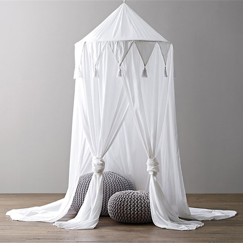 Baby Triangular Lace Crib Baby Mosquito Net Sandfly Netting For Stroller Children Crib Netting Baby Room Decoration
