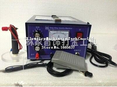 220 V, 400 W/50A Électrique Puissance De Soudage Par Points Machine pour Bijoux