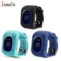 LEMADO Q50 Мило для детей Smart Watch SOS Вызова Расположение Finder Locator Tracker для Ребенка Anti Потерянный Монитор Детские Наручные Часы