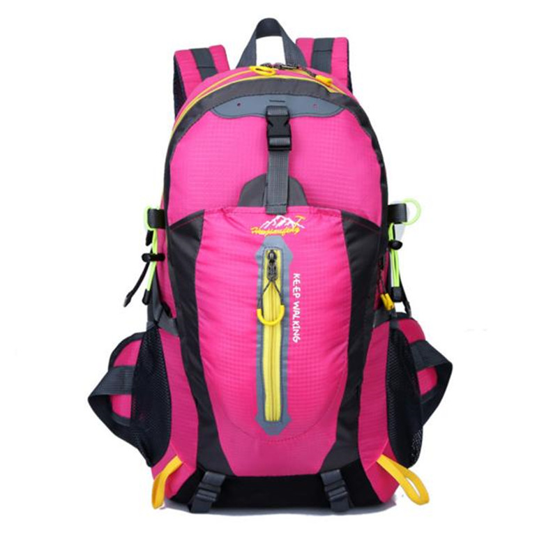 Outdoor Backpack Bag Hiking Camping Waterproof Nylon Travel Luggage Rucksack Backpack Bag Bicycle Cycling Equipment #5O08-4 (9)