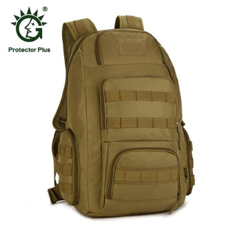 Sacos de nylon impermeável homem mochila 50L militar dos homens quentes de alta qualidade à prova d' água bolsa De Viagem mochila 40 litros 14 polegada computador