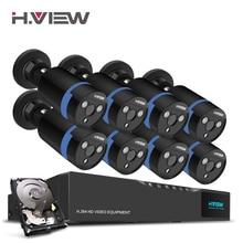 H. Ansicht 16CH Überwachung System 8 1080 P Outdoor-überwachungskamera 16CH CCTV DVR 1 TB HDD Kit Video überwachung Easy Remote View