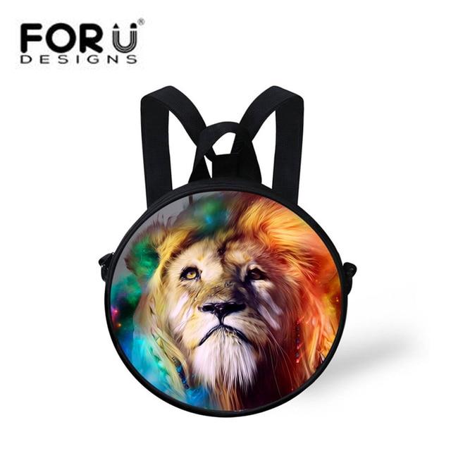 0f90ce2a2ddd US $17.99 |FORUDESIGNS Small Kids Mini Backpack,Cute Animal Print  Kindergarten Backpacks,Girls Boys Mini Backpack,Women Backpack Bagpack -in  School ...